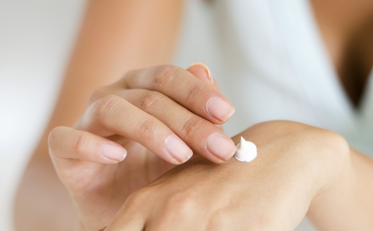 Various creams which are used to treat different types of itchy skin conditions
